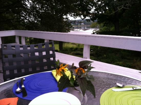 ‪‪Newcastle‬, ‪Maine‬: Breakfast view
