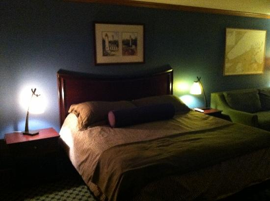 The Inn on Madeline Island: Bed