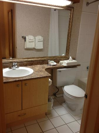Travelodge Victoria: Room 235 bathroom