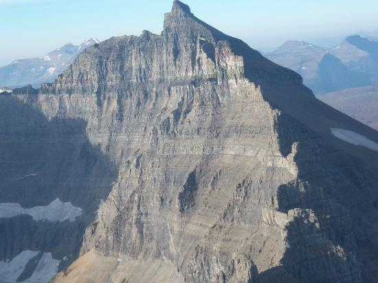 View Of Glacier National Park From A Helicopter  Picture Of Glacier HeliTou