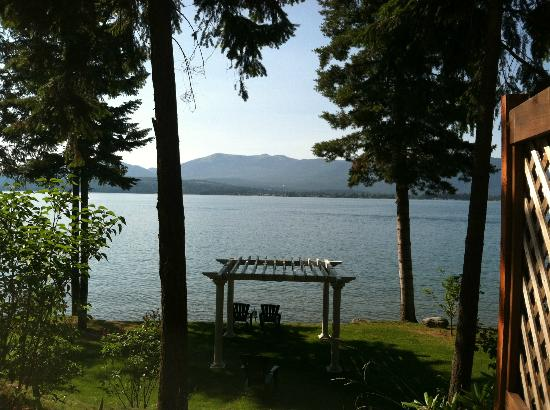 The Lodge at Sandpoint: The view from our patio.