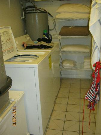 The Seasons: Laundry room in our suite