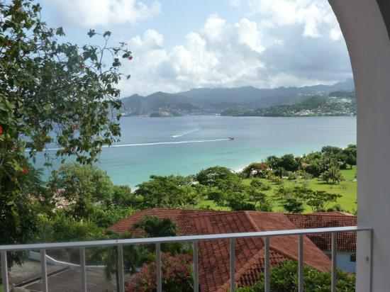 Mount Cinnamon Grenada: This was the view from our balcony