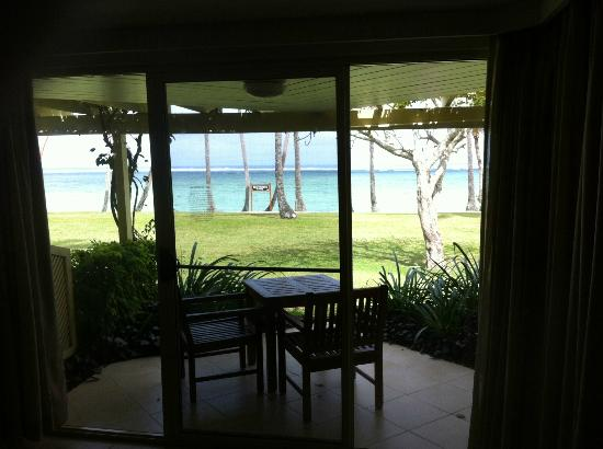 Shangri-La&#39;s Fijian Resort &amp; Spa: View from the room