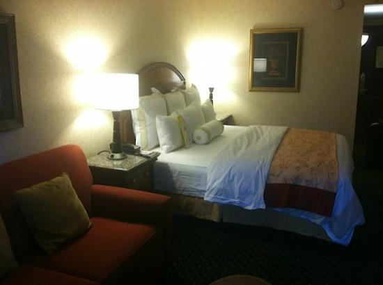 Marriott Salt Lake City City Center: The King bed room