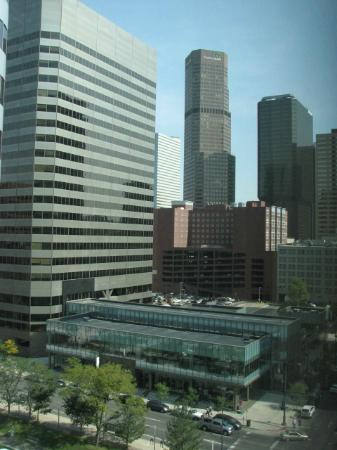 The Westin Denver Downtown: view from my room on the 7th floor