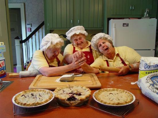 The Famous Pie Moms at Berry Manor Inn