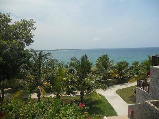 Royal Decameron Baru: View of beach from hotel grounds