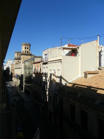 Tryp Ciudad de Alicante: view from 3rd floor room