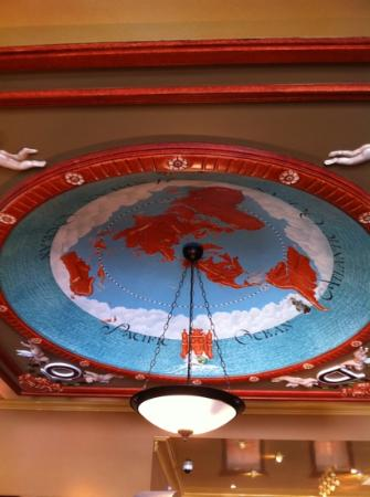 Decorative ceiling at Dome, Rottnest Island