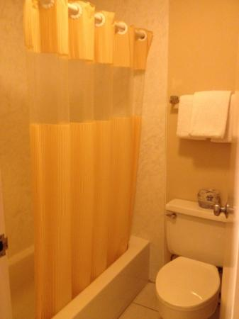 Days Inn Windsor Locks at Bradley International Airport: clean bathroom