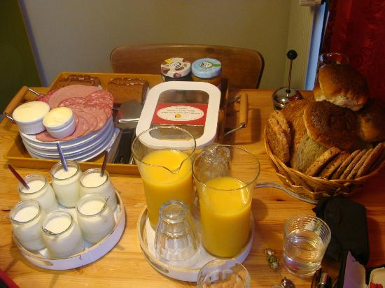 B&amp;B Jordaan: Our great daily breakfast