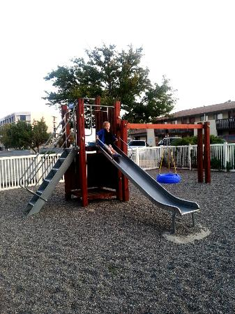 Americas Best Value Inn- Grand Junction: The fenced in playground was a sanity saver