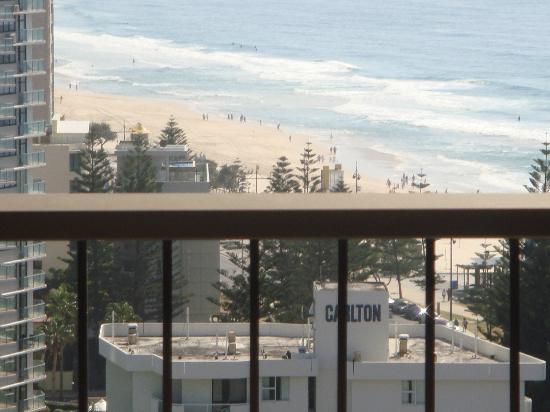 Surfers Century Apartments: view from balcony