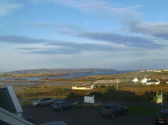 Carey's Viking House Hotel: view from bedroom 6