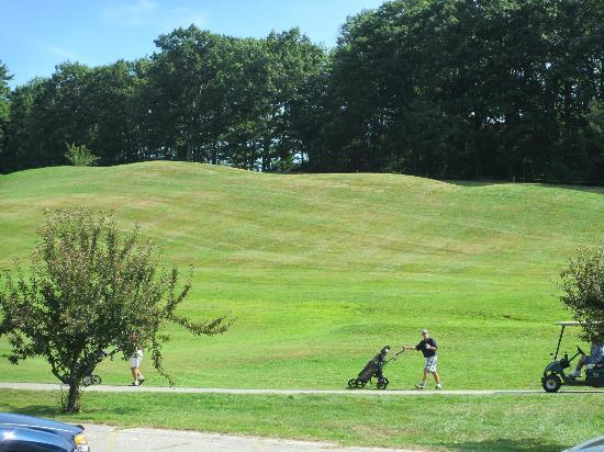 Crotched Mountain Resort & Spa: Section of the Golf Course, possibly a small ski run for the winter?