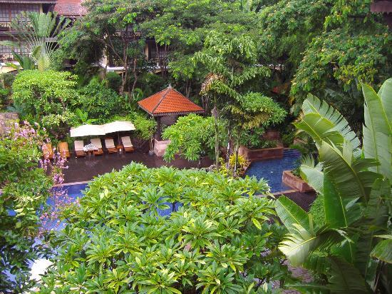 Victoria Angkor Resort &amp; Spa: view from room