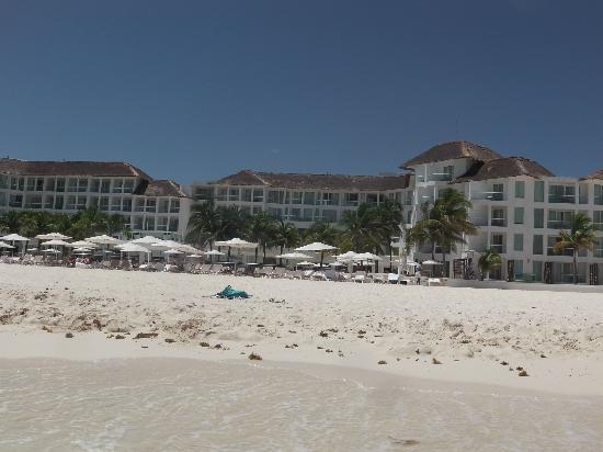 Playacar Palace: View from the ocean