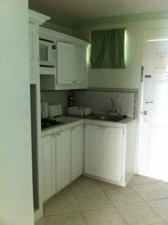 Dover Beach Hotel: Kitchen area