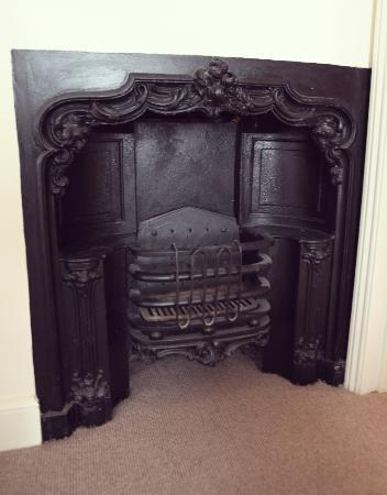Worth, UK : Fireplace in Executive Room 