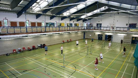 Aspire Sports Hall Picture Of Aspire National Training Centre Stanmore Tripadvisor