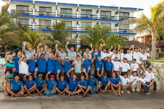 Blue Angel Resort: the blue angel team 2012!