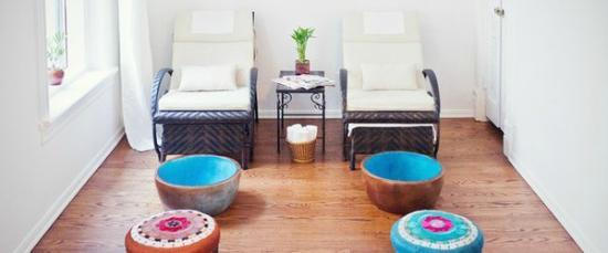 Mani & pedi room on Pinterest | Nail Salons, Pedicures and Salons