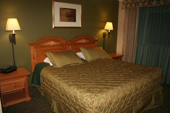 Huntington Country Inn: La cama