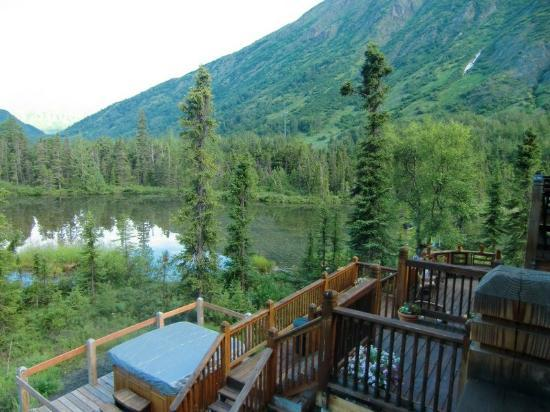 Inn at Tern Lake: View from my room