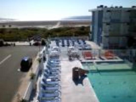 The Crusader Oceanfront Family Resort: view from unit 315
