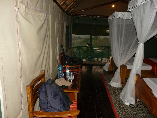 Manyara Wildlife Safari Camp: Inside the Room