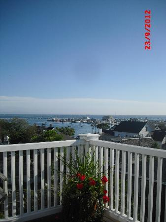Benchmark Inn: Another glorious day in Provincetown. First view on waking.
