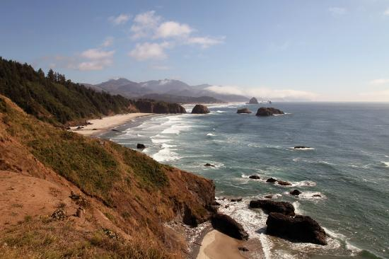 Stephanie Inn: Cannon Beach seen from Ecola State Park