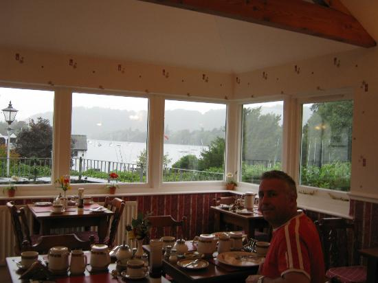 New Hall Bank: The view at breakfast