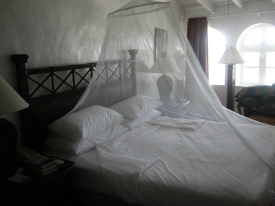 Windjammer Landing Villa Beach Resort: bug net