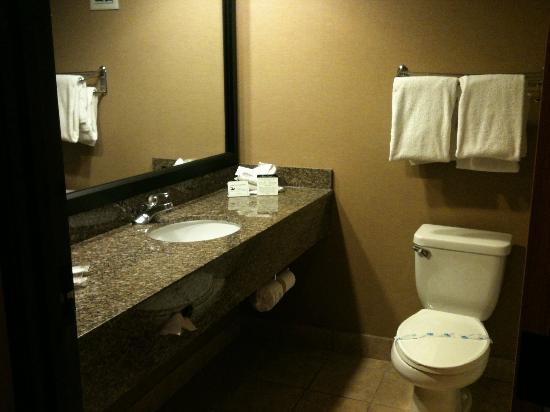 ‪‪Comfort Suites‬: Clean bathroom