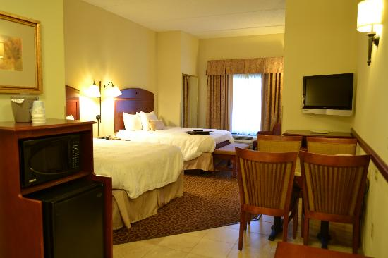 Hampton Inn Oneonta: Two-Room Suite