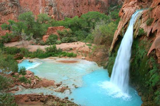 Photos of Havasu Falls, Supai