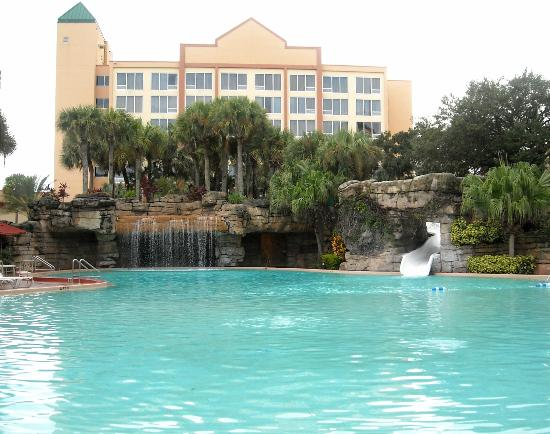Waterfall Pool Picture Of Radisson Resort Orlando