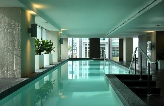 20 Metre Indoor Lap Pool Picture Of Sofitel Auckland Viaduct Harbour Auckland Tripadvisor