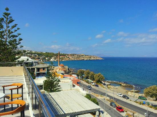 Macaris Suites & Spa: view from sun terrace