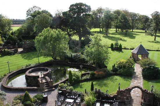 Clarencefield, UK: View from room 9