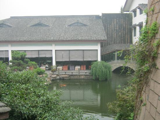 Hangzhou Jinxi Hotel: view from the lobby