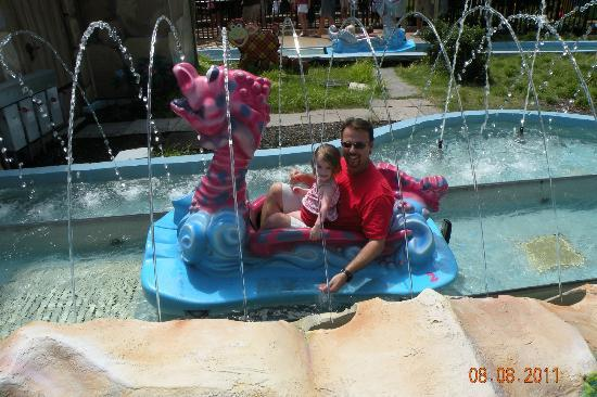 Papa And Angel On The First Ride Last Year Picture Of Busch Gardens Williamsburg Tripadvisor