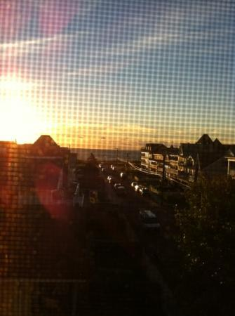 The Inn at Ocean Grove: The view of the Ocean from our bedroom window