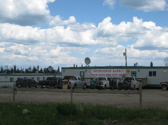 Wonowon open worker camp - Mile 101, Alaska Highway