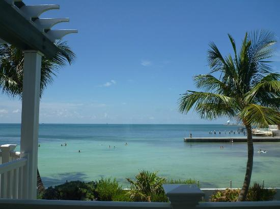 Southernmost on the Beach: The view we wake up to from our window