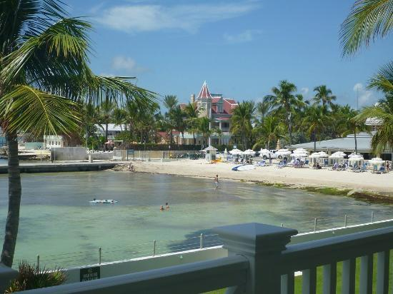 Southernmost on the Beach: View from the room toward beach.