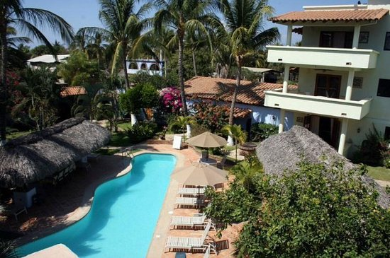 Casamar: View of Pool and Palapas