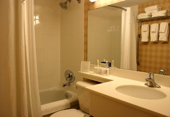 Holiday Inn Express Hamilton: Guest Bathroom